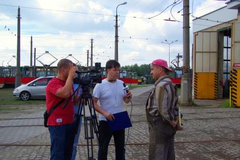 Rozmowa z reporterem TV ORION